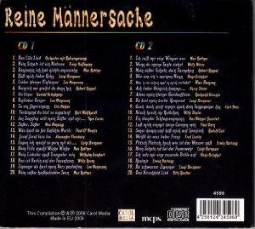 Bild 2: Reine Männersache, Orch. mit Refraingesang, Franz Hoffmann, Max Kuttner, Luigi Bernauer, Leo Monosson, Robert Koppel, Gustaf Gründgens..