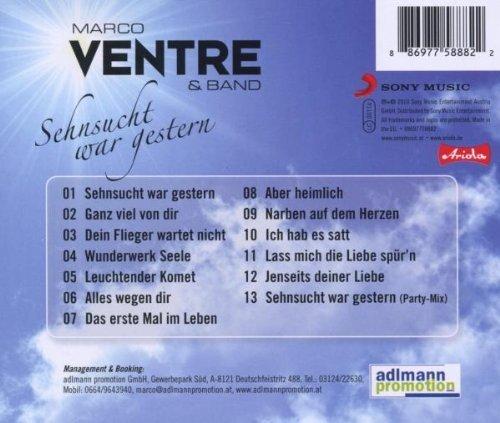 Bild 2: Marco Ventre, Sehnsucht war gestern (& Band)