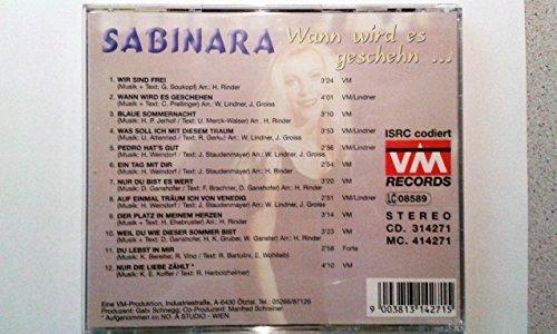 Bild 2: Sabinara, Wann wird es geschehn..
