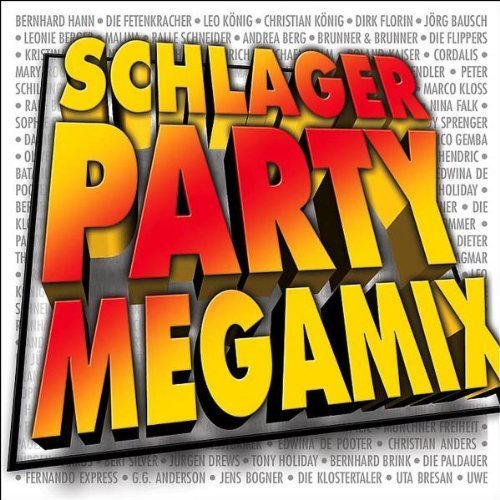 Bild 1: Schlager Party Megamix (2004), Roberto Blanco, Christina Falk, Nadine Norell, Thomas Frank, Tina York, Bernhard Hann..