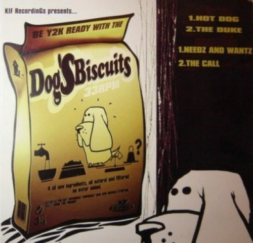 Image 1: Dog's Biscuits, Hot dog (4 tracks)