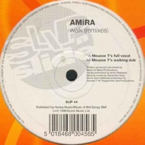 Bild 1: Amira, Walk-Remixes (Mousse T's Full Vocal/Mousse T's Walking Dub, 1996)