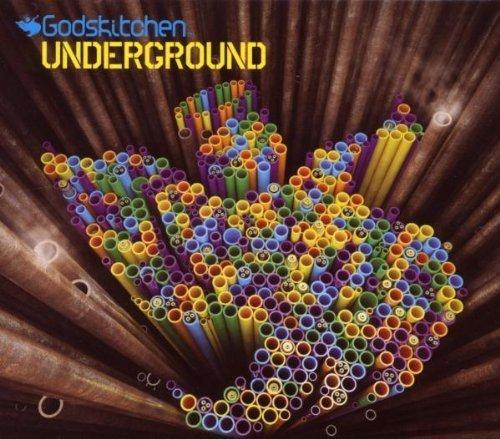 Bild 1: Godskitchen Underground (2007, mixed by P. Thomas/M. Eteson), Robert M, Filth & Splendour, Whelan & Di Scala feat. Abigail Bailey..