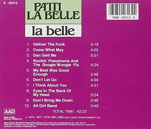 Bild 2: Patti La Belle, La belle (10 tracks, 1974-93, Sony)