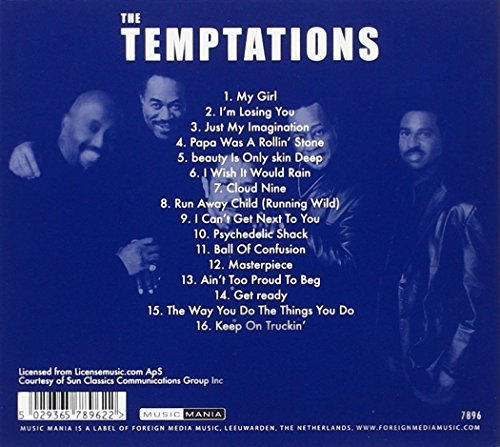 Bild 2: Temptations, Collection (16 tracks)