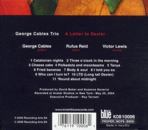 Bild 2: George Cables Trio, A letter to Dexter
