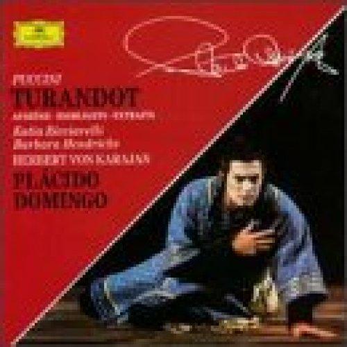Bild 1: Puccini, Turandot-Auszüge (DG) Domingo, Karajan