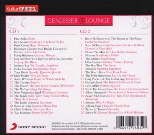 Bild 2: Geniesser Lounge-Easy summer beach (KulturSpiegel), Paul Anka, Neil sedaka, Perry Como Rosemary Clooney with Buddy Cole & his Orchestra...