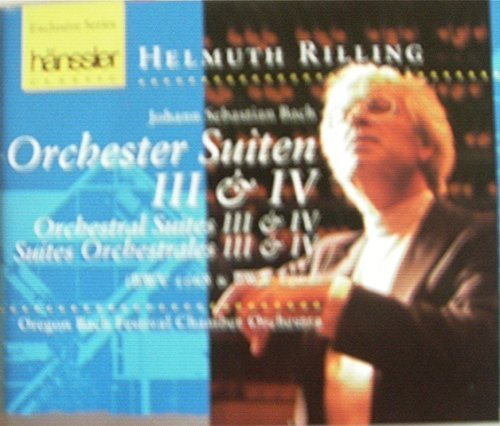 Bild 1: Bach, Orchestersuiten Nr. 3 & 4 Oregon Bach Festival Chamber Orchestra, Helmuth Rilling