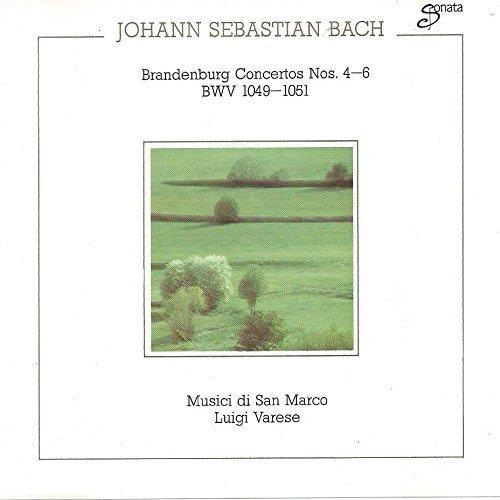 Bild 1: Bach, Brandenburg concertos Nos. 4-6 Musici di San Marco, Luigi Varese