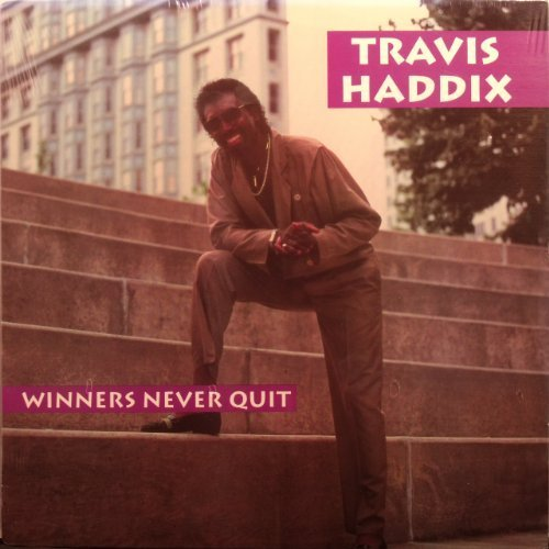 Bild 1: Travis Haddix, Winners never quit (1991)