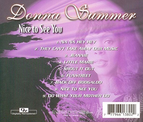 Bild 2: Donna Summer, Nice to see you (1999)