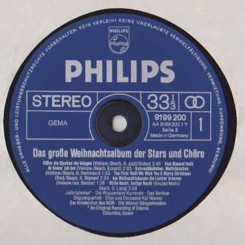 Bild 3: Das grosse Weihnachtsalbum der Stars und Chöre, Kinderchor des NDR, Jgendchor Vera Schink, Wiener Sängerknaben, Wuppertaler Kurrende..
