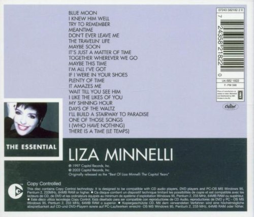 Bild 2: Liza Minnelli, Essential (22 tracks, 2003, EMI)