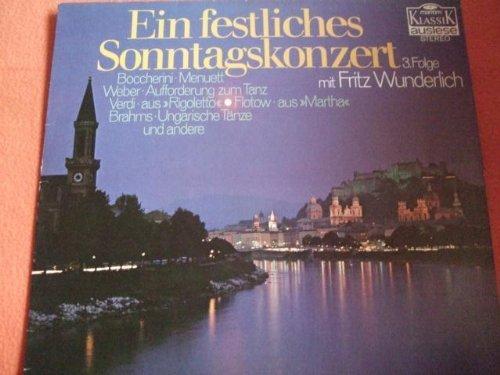 Bild 1: Fritz Wunderlich, Ein festliches Sonntagskonzert 3
