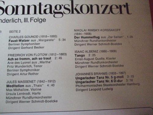Bild 3: Fritz Wunderlich, Ein festliches Sonntagskonzert 3
