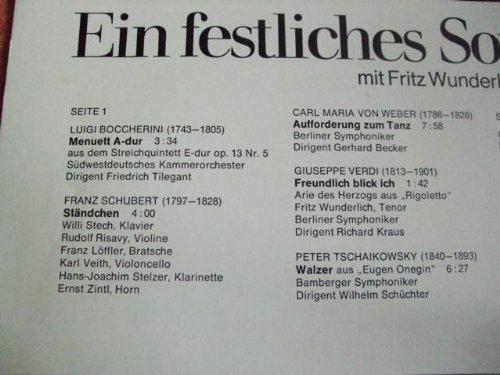 Bild 4: Fritz Wunderlich, Ein festliches Sonntagskonzert 3
