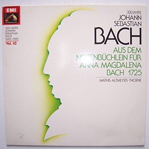 Bild 1: Bach, Aus dem Notenbüchlein der Anna Magdalena Bach (EMI) (Edith Mathis, Theo Altmeyer, Alfred Lessing..)