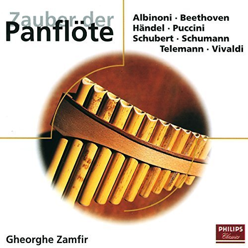 Bild 1: Gheorghe Zamfir, Zauber der Panflöte (Philips, 16 tracks, 1978-93)