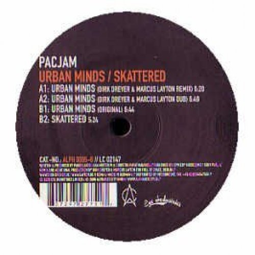 Bild 1: Pacjam, Urban minds/Scattered (2006, #alph0065-6)
