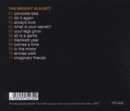 Bild 2: Nada Surf, Weight is a gift (2005)