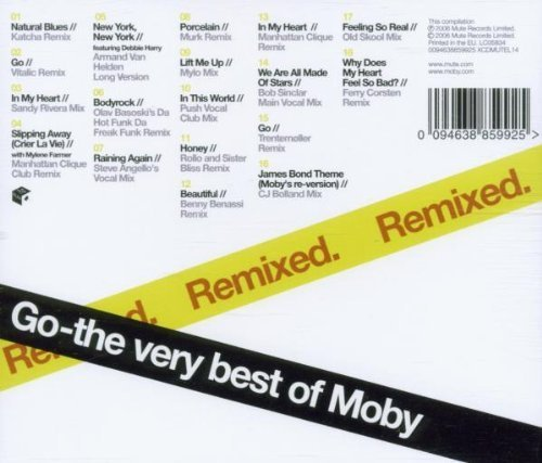 Bild 2: Moby, Go-The very best of-Remixed (2006)