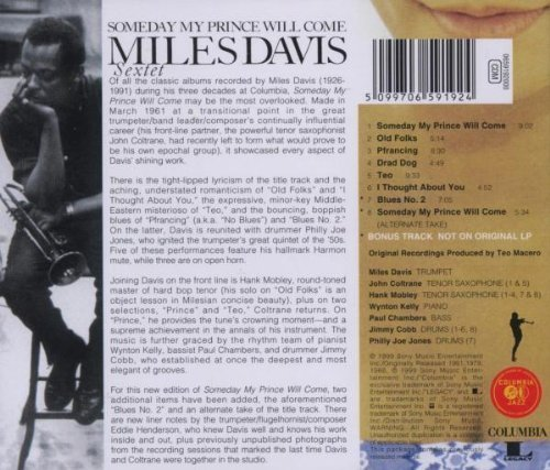 Image 2: Miles Davis, Someday my prince will come (1961/99; 8 tracks)