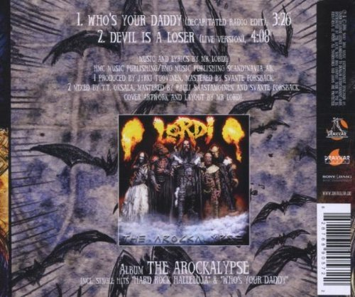 Image 2: Lordi, Who's your daddy? (2006; 2 tracks)