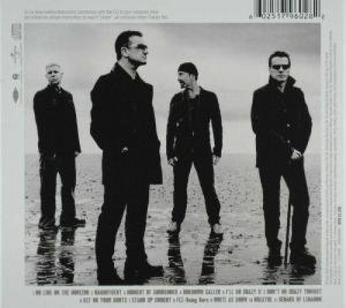 Bild 2: U2, No line on the horizon (2009, digi)