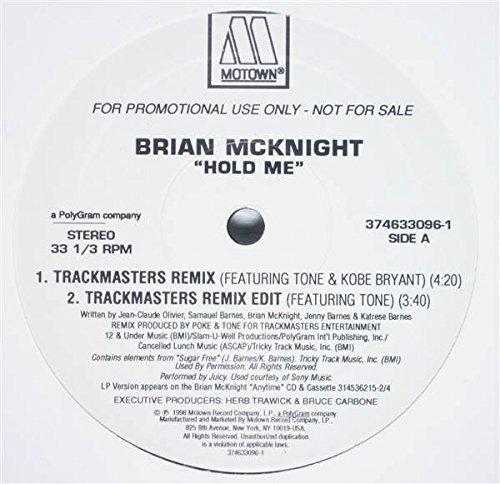 Bild 1: Brian McKnight, Hold me (US, Trackmasters Remix Edit, feat. Tone, 1998)