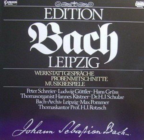 Bild 1: Bach, Werkstattgespräche, Probenmitschnitte, Musikbeispiele (Peter Schreier, Ludwig Güttler, Hans Grüss, Max Pommer..)