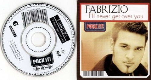 Bild 1: Fabrizio, I'll never get over you (2003; 3''-pock it!)