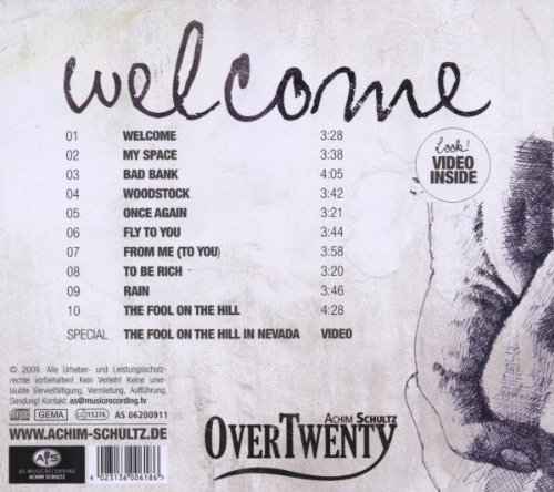 Bild 2: Over Twenty, Welcome (2009)
