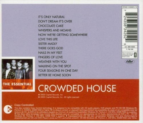 Bild 2: Crowded House, Essential (compilation, 2003, EMI/Capitol)