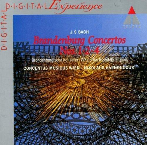Bild 1: Bach, Brandenburgische Konzerte Nr. 1, 2, 4 (Teldec, 1981) Concentus Musicus Wien/Harnoncourt