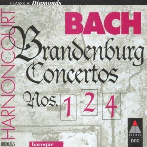 Bild 3: Bach, Brandenburgische Konzerte Nr. 1, 2, 4 (Teldec, 1981) Concentus Musicus Wien/Harnoncourt