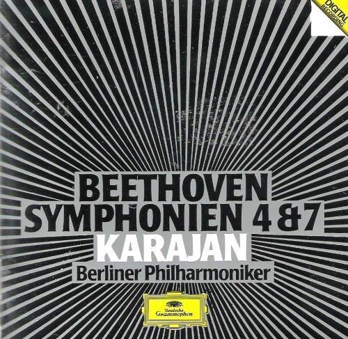 Bild 1: Beethoven, Sinfonie Nr. 4, op. 60/Nr. 7, op. 92 (DG, 1983/85) (Berliner Philharmoniker/Karajan)