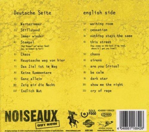 Bild 2: Noiseaux, Out now (2009)