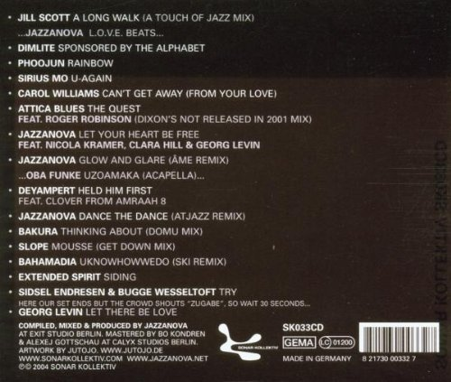 Bild 2: Jazzanova, Mixing (2004)