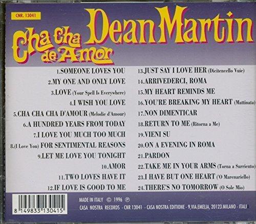 Bild 2: Dean Martin, Cha cha de amor/Dino-Italian love songs (I, 24 tracks, 1996)
