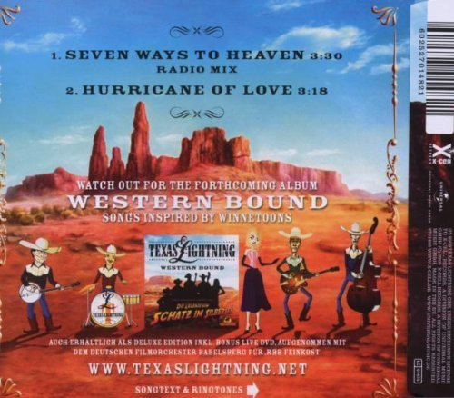 Bild 2: Texas Lightning, Seven ways to heaven (2 tracks, 2009)