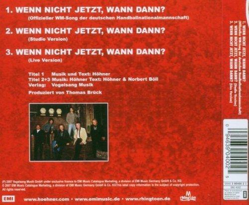 Bild 2: Höhner, Wenn nicht jetzt, wann dann? (2007)