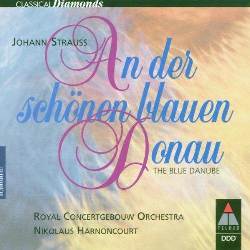 Bild 1: Strauss, Johann (Sohn), An der schönen blauen Donau (Teldec, 1986/88/97) (Royal Concertgebouw Orch. Amsterdam/Harnoncourt)