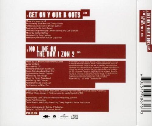 Bild 2: U2, Get on your boots (2009; 2 tracks)