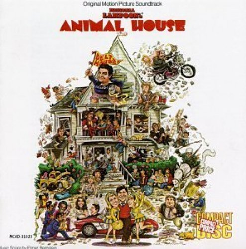 Bild 1: Animal House (1978), Elmer Bernstein, John Belushi, Sam Cooke..