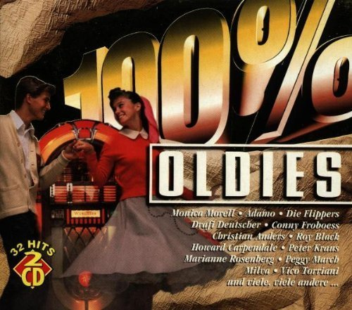 Bild 1: 100% Oldies (1997, Koch), Monica Morell, Adamo, Drafi Deutscher, Conny Froboess, Roy Black..