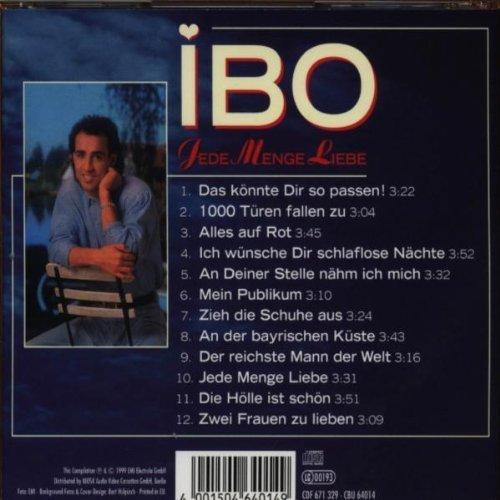 Bild 2: Ibo, Jede Menge Liebe (12 tracks, 1989/90/99)
