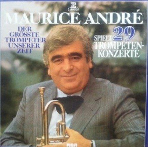 Фото 1: Maurice André, Spielt 29 Trompetenkonzerte (6-LP-Box)