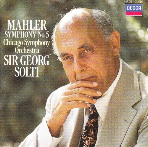 Bild 1: Mahler, Sinfonie Nr. 05 (Decca, 1970/94) (Chicago SO/Solti)