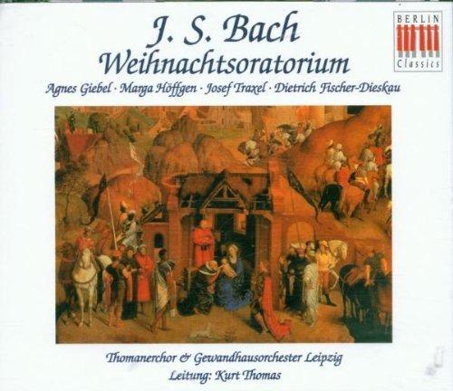 Bild 1: Bach, Weihnachtsoratorium, BWV 248 (Berlin Classics, 1962) Gewandorch. Leipzig/Thomas, Thomanerchor Leipzig, Dietrich Fischer-Dieskau, Thomanerchor Leipzig..